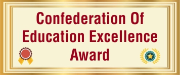 Confederation of Education Excellence Award